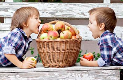 Il goloso di mele
